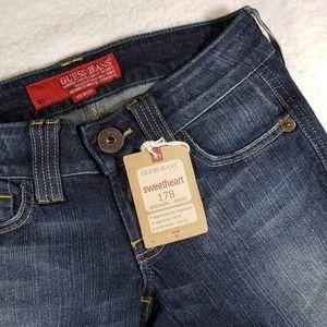 Guess NWT Stretch Slim Fit Flare Leg Jeans sz24